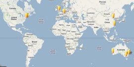 Click the map for our last 100 untappd checkins