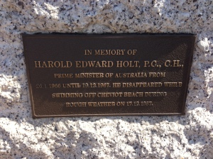 Harold's memorial