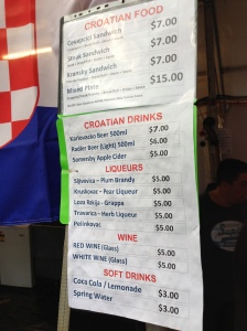 Croatian libations