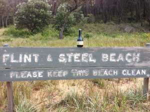 Flint and Steel Beach
