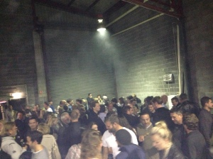 A party in a brewery