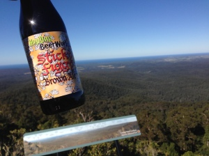 Sticky Figgy and George Boyd lookout