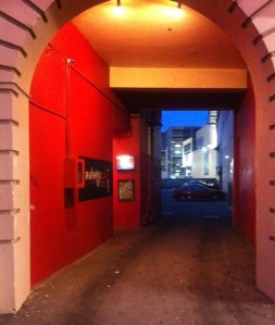 The entrance to Hashigo Zake - is this Wellington or Melbourne...
