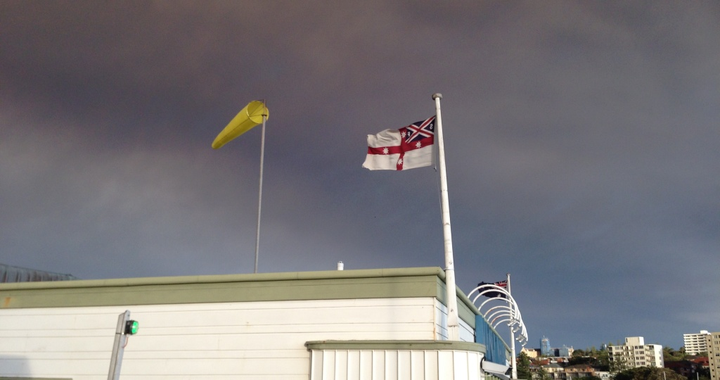House flag of Sydney Ferries