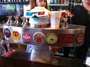 The taps at Bebemos