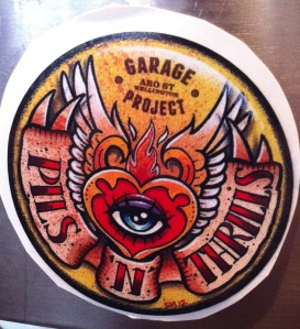 Garage Project Pils n Thrills tap