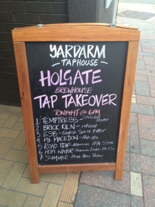The Holgate line-up