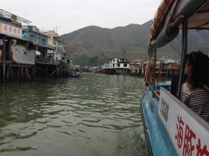 A sort of a ferry - Tai O