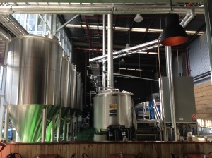 It's a brewery