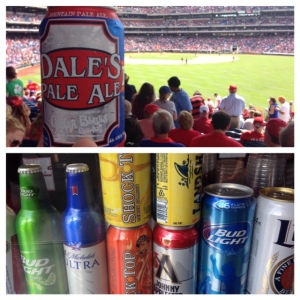 Dale's Pale Ale stood out on the day