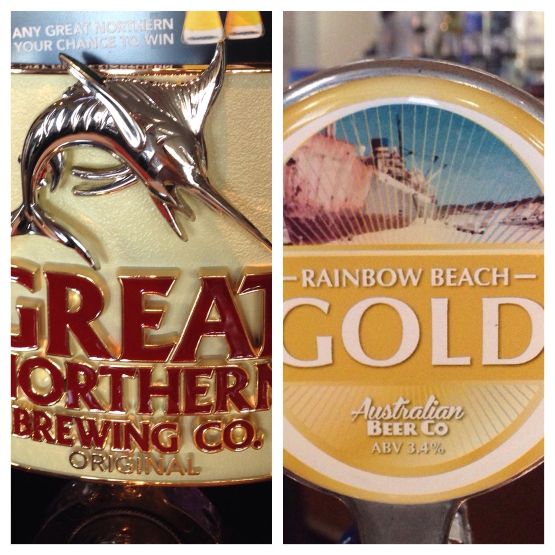 Great Norther Beer Tap Badge