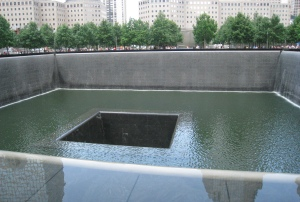9/11 Memorial - very moving