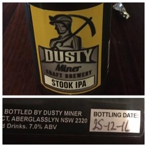 Brasserie artisanale Dusty Miner et tunnel sous la bière Hunter Valley - à l'arrière du ferry  - Bière artisanale 4