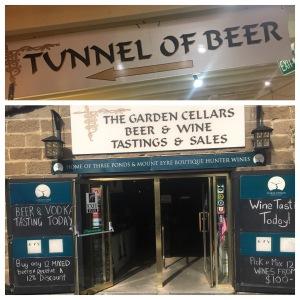 Brasserie artisanale Dusty Miner et tunnel sous la bière Hunter Valley - à l'arrière du ferry  - Bière artisanale 2